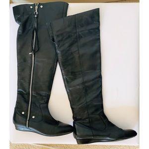 Jessica Simpson Katyia Over the knee zip up boots